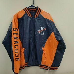 Syracuse University athletic jacket